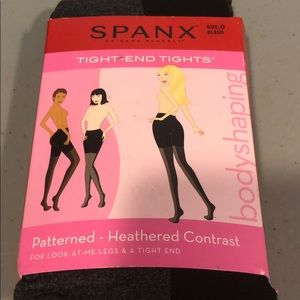 SPANX Accessories - Spanx Tight-End Bodyshaping Tights Size D NEW